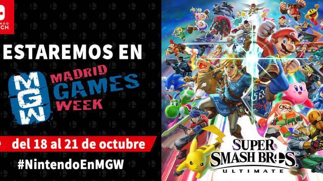 Nintendo confirma sus juegos para la Madrid Games Week