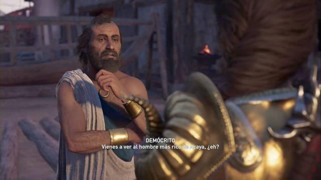 El enigma del zopenco en Assassin's Creed Odyssey - Misión secundaria