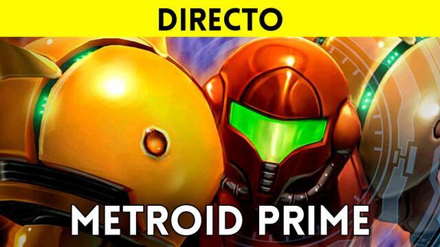 Jugamos en directo a Metroid Prime a partir de las 19:00
