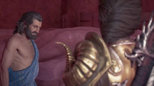 El mensaje, el palo y el artista en Assassin's Creed Odyssey - Misión secundaria