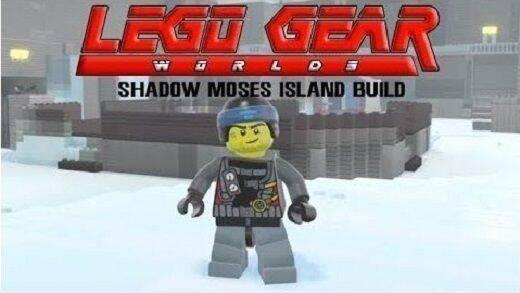 Realizan una espectacular recreación de Metal Gear Solid en LEGO Worlds