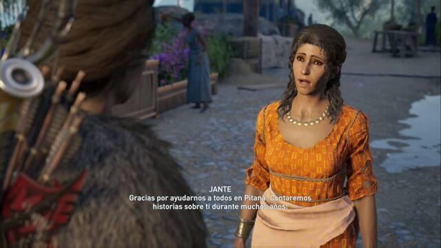 El final del día en Assassin's Creed Odyssey - Misión secundaria
