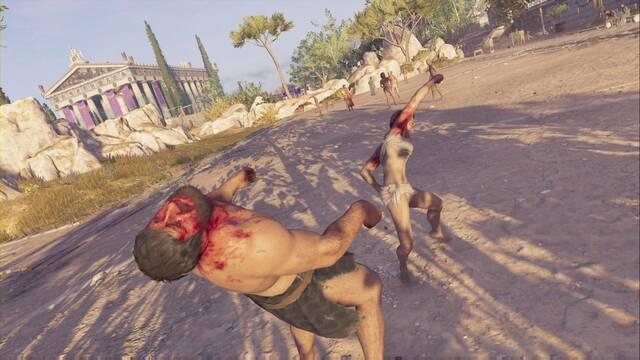 El pancracio en Assassin's Creed Odyssey - Misión principal