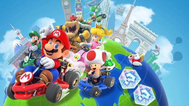 Mario Kart Tour recibe la temible Senda Arcoiris, más personajes y otros circuitos
