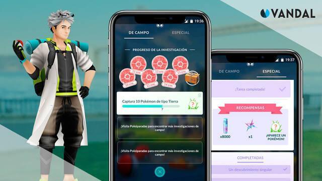 Pokémon GO: Todas las investigaciones y recompensas (octubre 2021)