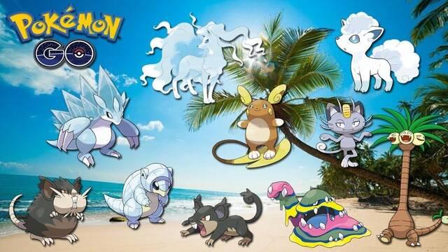 Pokémon Go: TODOS los Pokémon de Alola y cómo conseguirlos