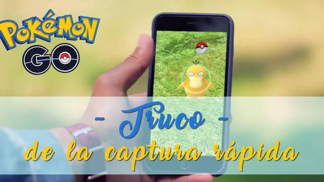 Pokémon Go: truco para capturar rápido a los Pokémon