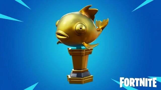 Logros Fortnite: cómo conseguir y usar el pez dorado mítico