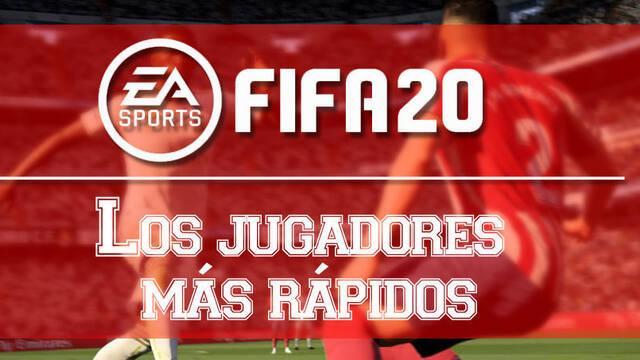 FIFA 20: Top 20 jugadores más rápidos para el Ultimate Team