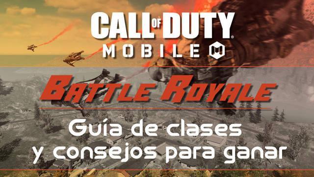 COD Mobile: Todas las clases del Battle Royale y consejos para ganar