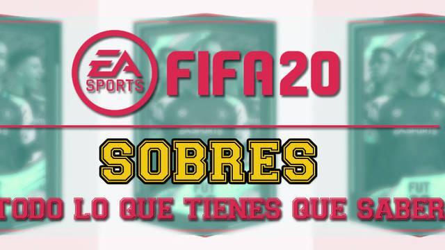 FIFA 20: Todos los sobres, recompensas y probabilidad de jugadores