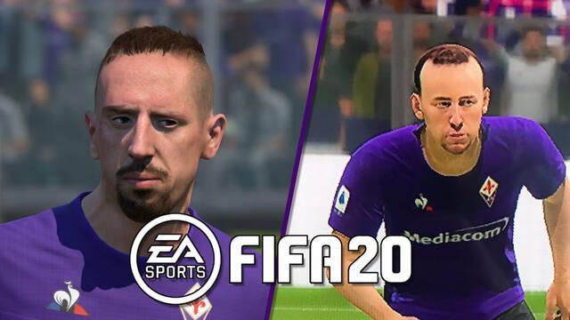 FIFA 20 rostros actualizados