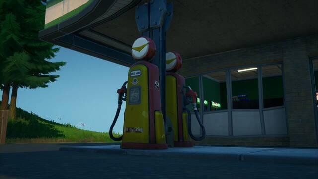 Desafío Fortnite: Inflige daño a enemigos disparando a surtidores de gasolina - SOLUCIÓN