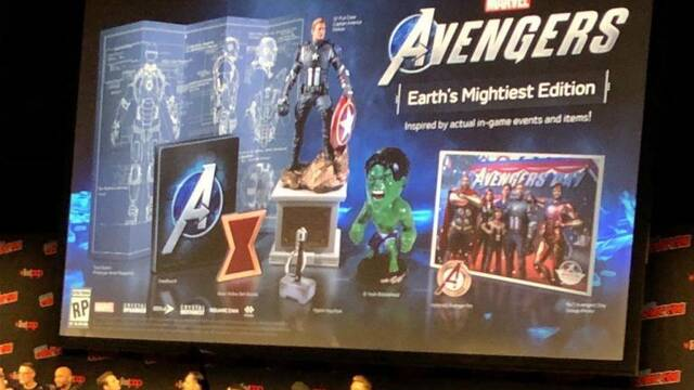 Marvel's Avengers presenta todo el contenido de su edición coleccionista más especial