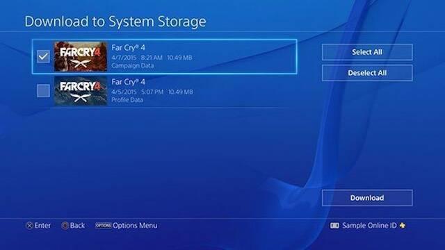 PS5 nos permitirá instalar las partes que queramos de cada juego