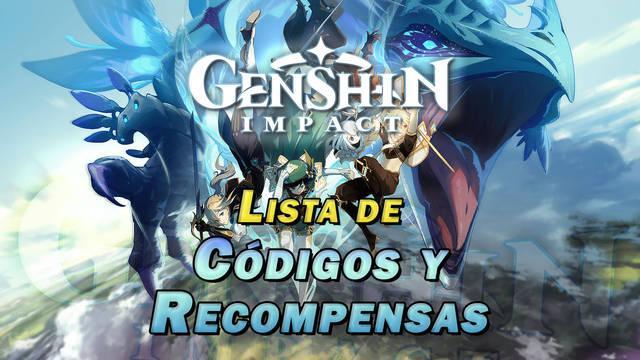 Genshin Impact: códigos de protogemas gratis y otras recompensas