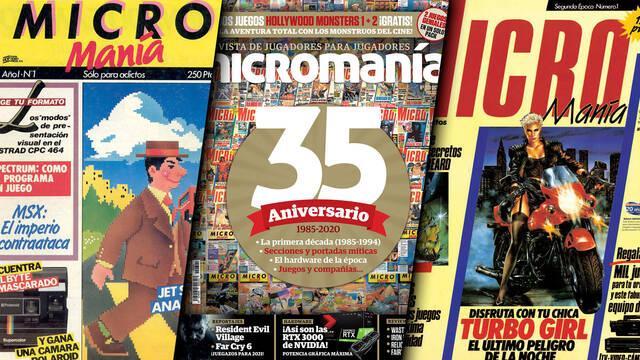 Micromanía 35 años revista española
