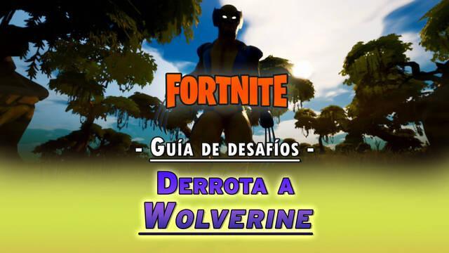 Desafío Fortnite: Derrota a Wolverine - LOCALIZACIÓN