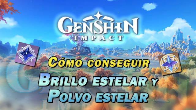 Genshin Impact: Cómo conseguir Brillo estelar y Polvo estelar y en qué gastarlos