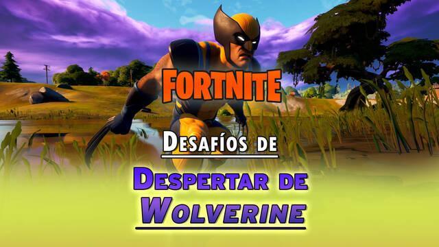 Desafíos de Despertar de Wolverine en Fortnite: solución y recompensas