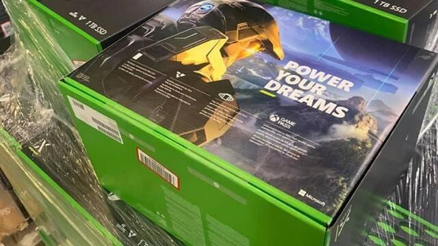 xbox series x unboxing caja