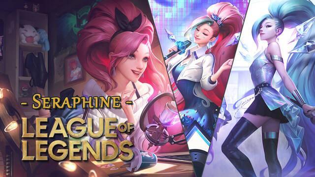 League of Legends presenta a su nueva campeona Seraphine; habilidades y detalles