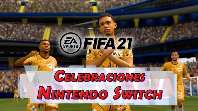 FIFA 21: Todas las celebraciones en Nintendo Switch y cómo hacerlas