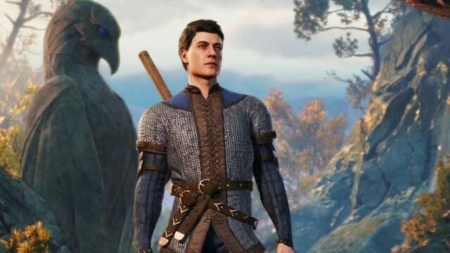 El personaje genérico de Baldur's Gate 3