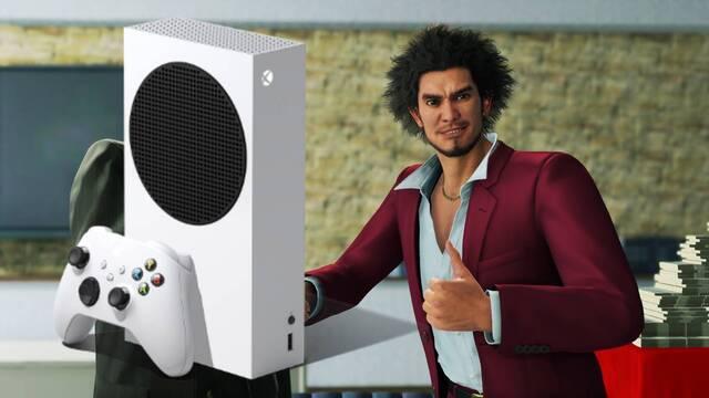 Objetivo de rendimiento de Yakuza: Like a Dragon en Xbox Series S.
