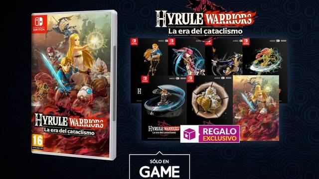 Incentivos por reservar Hyrule Warriors: La era del cataclismo en GAME.