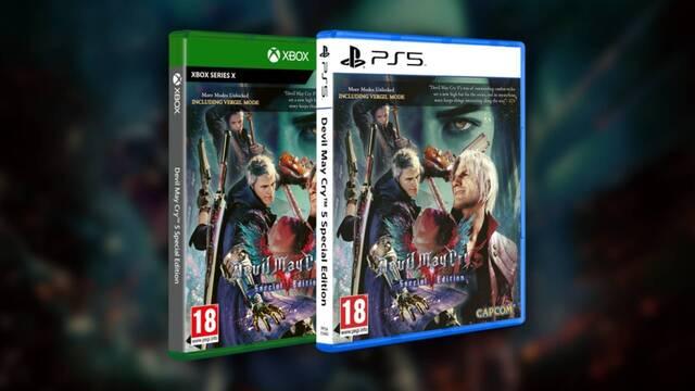 Fecha de lanzamiento de Devil May Cry 5 Special Edition en físico para PS5 y Xbox Series X.
