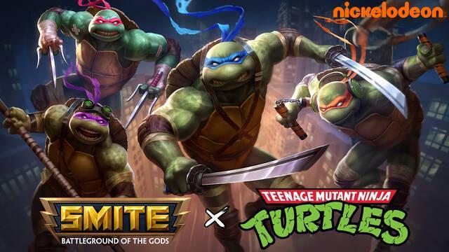 Smite dará la bienvenida a las Tortugas Ninja en noviembre