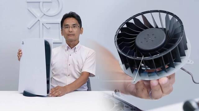 El gran ventilador de PS5 es la causa de su gran tamaño.