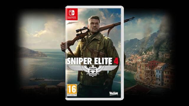 Sniper Elite 4 saldrá el 17 de noviembre en Switch.