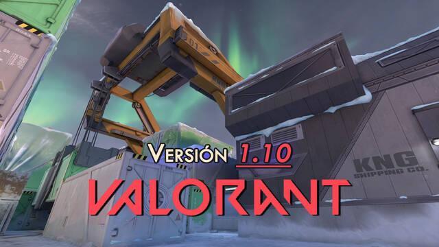 Valorant v1.10: Acto III con el mapa Icebox y mejoras para Combate a Muerte