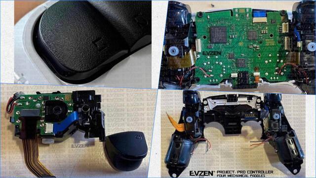 DualSense mando PS5 desmontado por dentro