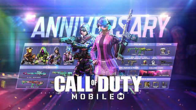 Call of Duty: Mobile celebra su primer aniversario con nuevo mapa, temporada y más