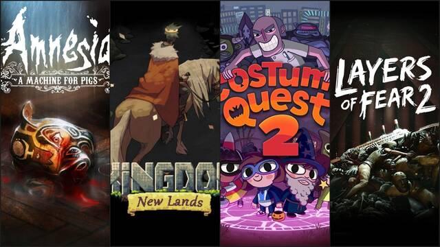 Nuevos juegos gratuitos en Epic Games Store.
