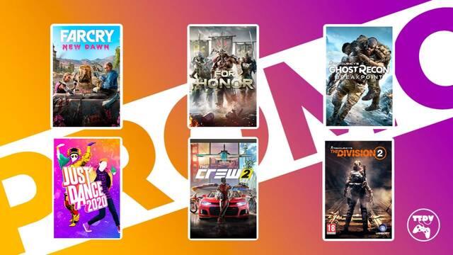 Ofertas de juegos de Ubisoft en TTDV.