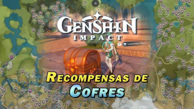 Genshin Impact: Todos los tipos de cofres y sus recompensas