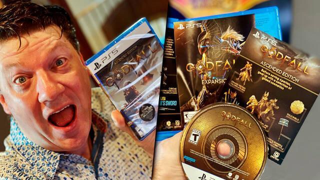 Godfall PS5 terminado versión física