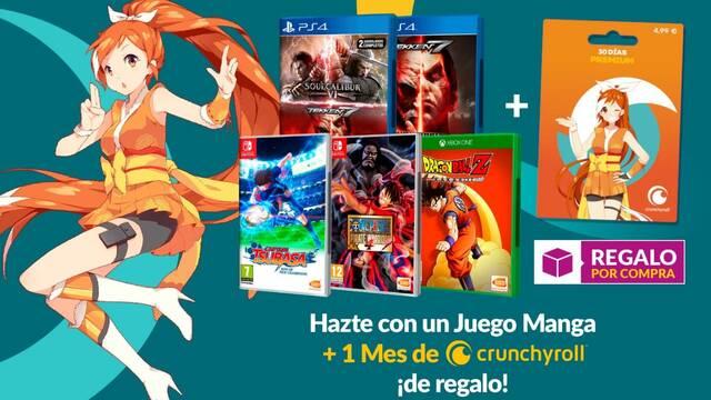 Oferta de Bandai Namco en GAME.