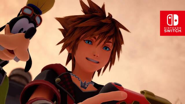 Kingdom Hearts Switch Nomura