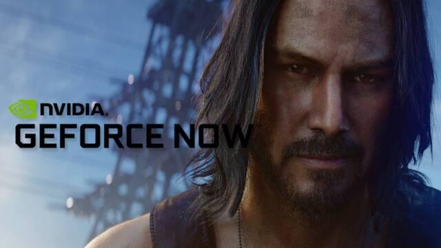 Cyberpunk 2077 será jugable en GeForce Now desde el primer día.