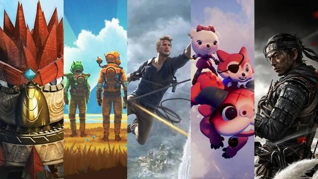 Los juegos más icónicos de PS4.