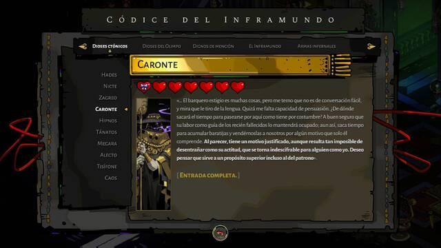Caronte y cómo derrotarlo en Hades