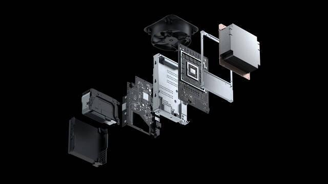 Xbox Series X temperatura consumo