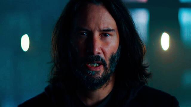 Cyberpunk 2077 con Keanu Reeves anuncio televisión