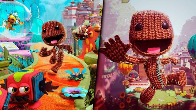 Sackboy Una aventura a lo grande revolución plataformas 3D