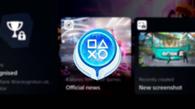 Trofeos PS5 recompensas temas avatares